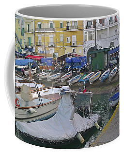 Capri Small Harbor Coffee Mug
