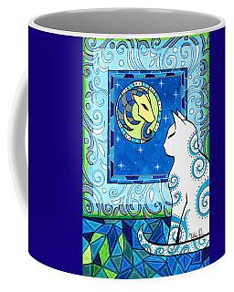 Capricorn Cat Zodiac Coffee Mug