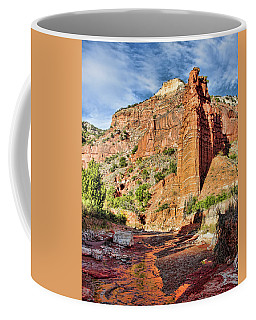 Caprock Canyon Cliff Coffee Mug