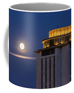 Capstone House And Full Moon Coffee Mug