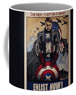 Captain America Recruiting Poster Coffee Mug