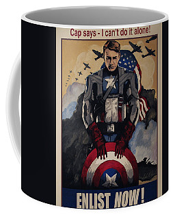 Captain America Recruiting Poster Coffee Mug