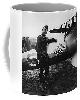 Captain Rickenbacker Painting Coffee Mug