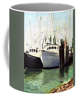Captains Smith Morehead City North Carolina Original Fine Art Oil Painting Coffee Mug