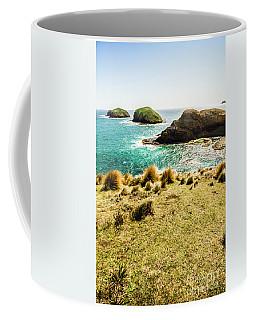 Captivating Coastal Cliff Coffee Mug