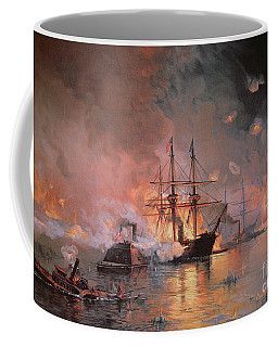 Capture Of New Orleans By Union Flag Officer David G Farragut Coffee Mug