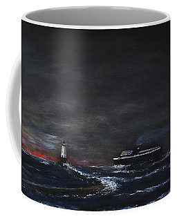 Car Ferry Badger November Crossing Coffee Mug