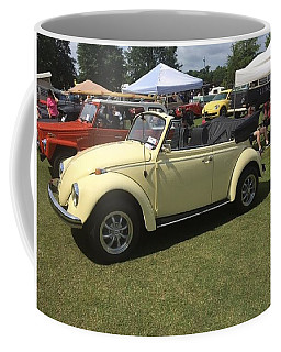 Coffee Mug featuring the photograph Car Show by Aaron Martens