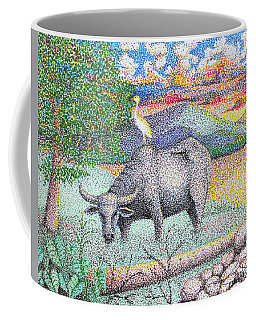Carabao Coffee Mug by Cyril Maza