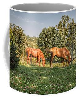 1006 - Caramel Horses I Coffee Mug