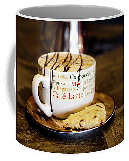 Caramel Macchiato With Scone Coffee Mug