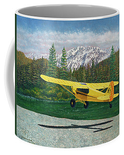 Carbon Cub Riverbank Takeoff Coffee Mug