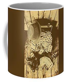 Card Games And Vintage Bets Coffee Mug