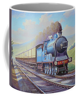 Cardean On Anglo-scottish Express. Coffee Mug