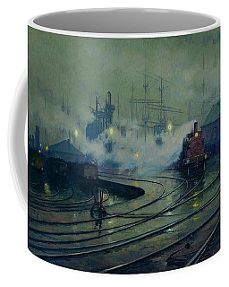 Cardiff Docks Coffee Mug