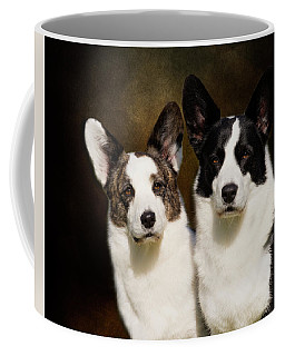 Cardigan Corgis Coffee Mug