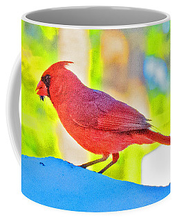 Cardinal Blue Coffee Mug