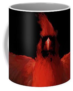 Cardinal Drama Coffee Mug