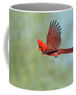 Cardinal On A Mission Coffee Mug