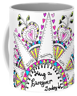 Caregiver Crown Of Hearts Coffee Mug