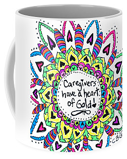 Caregiver Flower Coffee Mug