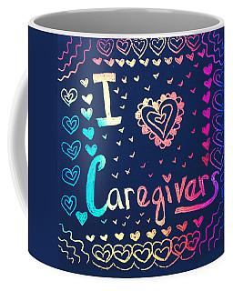 Caregiver Rainbow Coffee Mug