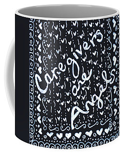 Caregivers Are Angels Coffee Mug