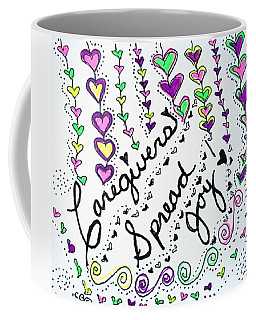 Caregivers Spread Joy Coffee Mug