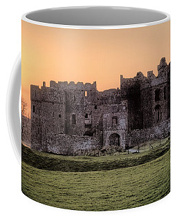 Carew Castle Coral Sunset Coffee Mug
