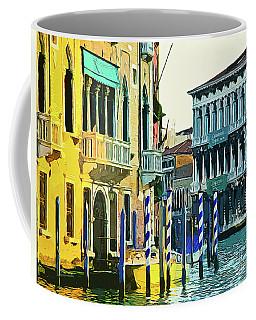 Coffee Mug featuring the photograph Ca'rezzonico Museum by Tom Cameron