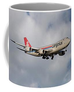 Cargolux Boeing 747-8r7 5 Coffee Mug