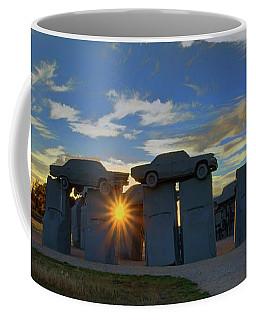 Carhenge - Nebraska - Sunset Coffee Mug