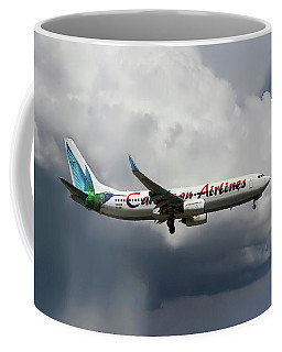Caribbean Airlines Boeing 737-8q8 Coffee Mug
