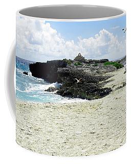 Caribbean Beach Scenic Coffee Mug by Rosalie Scanlon
