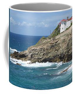 Caribbean Coastal Villa Coffee Mug