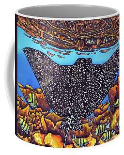 Caribbean Eagle Ray Coffee Mug