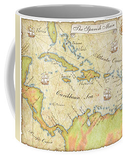 Caribbean Map - Good Coffee Mug
