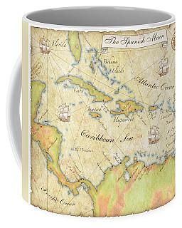 Caribbean Map - Good Coffee Mug by Sample