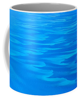 Caribbean Ocean Abstract Coffee Mug by Jetson Nguyen