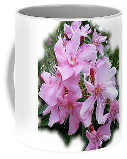 Coffee Mug featuring the photograph Caribbean Oleander by Marie Hicks