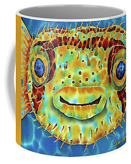 Caribbean Puffer Fish Coffee Mug