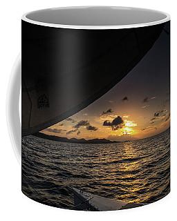 Caribbean Sail St Croix Coffee Mug