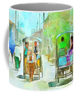 Caribbean Scenes - Carriage Ride Coffee Mug