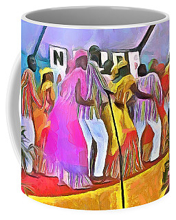 Caribbean Scenes - Folk Dancers Coffee Mug