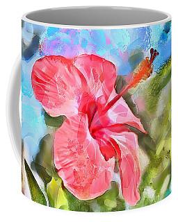 Caribbean Scenes - Hibiscus Coffee Mug