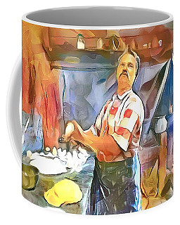 Caribbean Scenes - Making Roti Coffee Mug