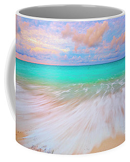 Caribbean Sea At High Tide Coffee Mug by Charline Xia