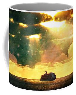 Caribbean Sunset Cloud Art Coffee Mug