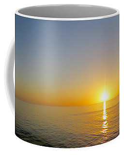 Coffee Mug featuring the photograph Caribbean Sunset by Teresa Wing