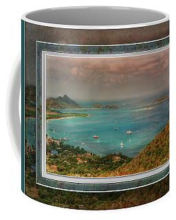 Coffee Mug featuring the digital art Caribbean Symphony by Hanny Heim